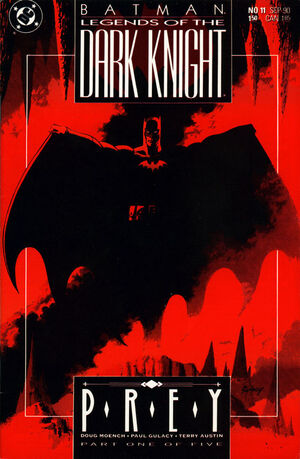 Cubierta para Batman: Legends of the Dark Knight # 11 (1990)