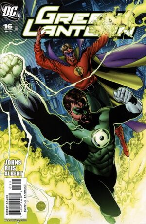 Cover for Green Lantern #16