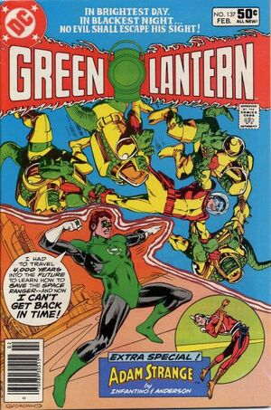 Cover for Green Lantern #137