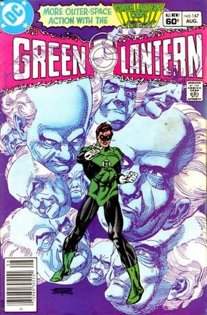 Cover for Green Lantern #167