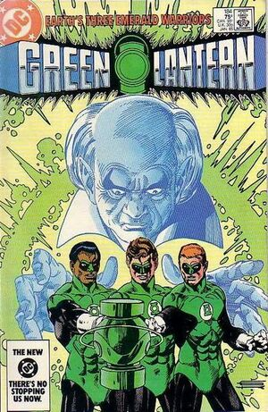 Cover for Green Lantern #184