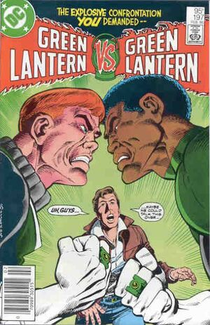 Cover for Green Lantern #197