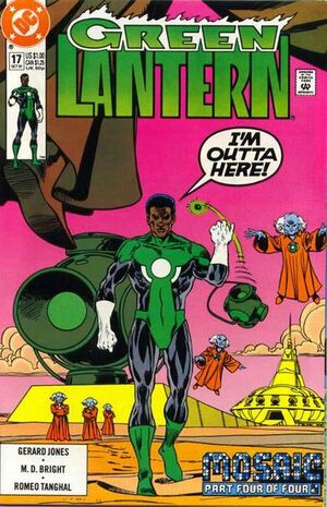 Cover for Green Lantern #17