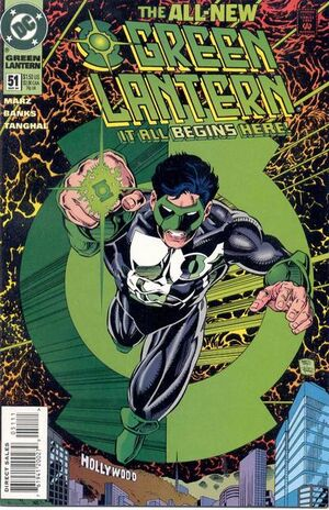 Cover for Green Lantern #51