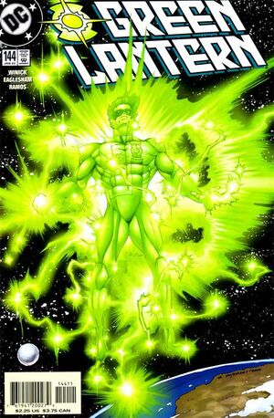 Cover for Green Lantern #144