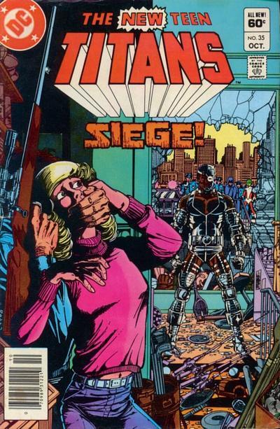 New Teen Titans Vol 1 #35