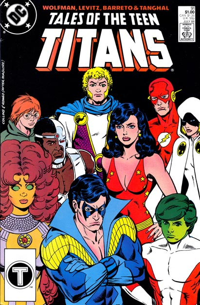 Not give Tales of the teen titans