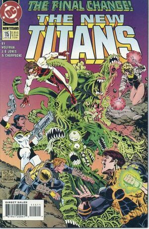 Cover for New Titans #115