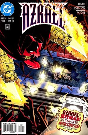 Cover for Azrael #35