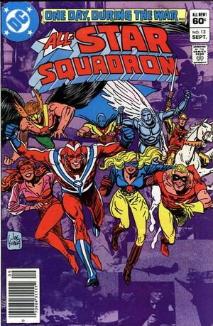 Cover for All-Star Squadron #13