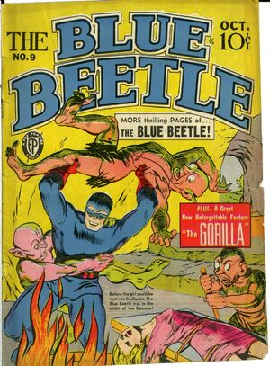 Cover for Blue Beetle #9