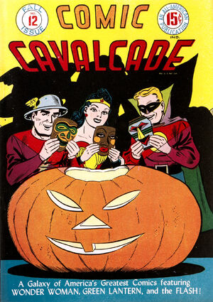 Cover for Comic Cavalcade #12