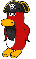 My Rockhopper Drawing