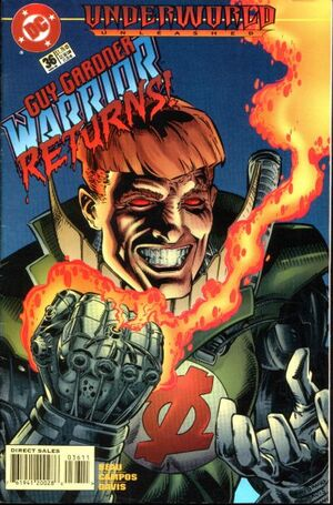 Cover for Guy Gardner #36