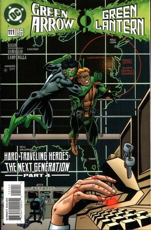Cover for Green Arrow #111