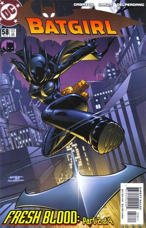 Cover for Batgirl #58