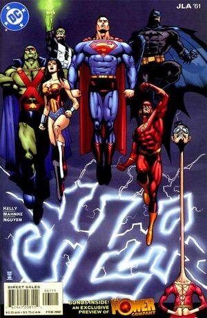 Cover for JLA #61