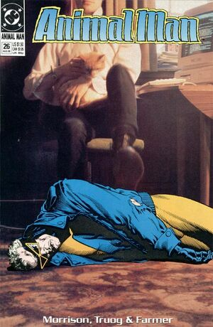 Cover for Animal Man #26