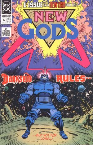 Cover for New Gods #17