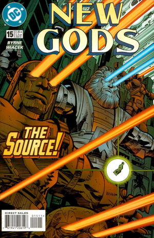 Cover for New Gods #15