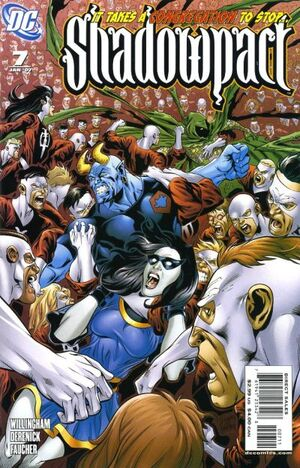 Cover for Shadowpact #7