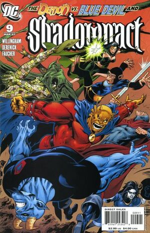 Cover for Shadowpact #9