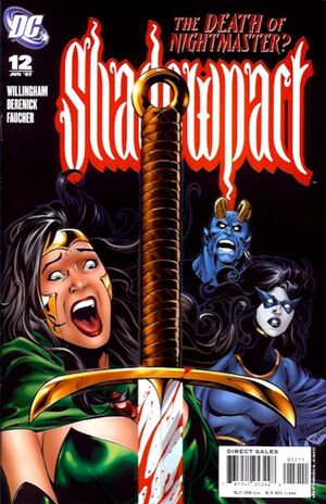 Cover for Shadowpact #12