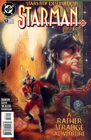 Cover for Starman #52