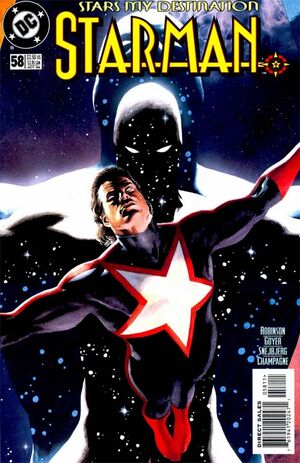 Cover for Starman #58