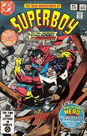 Cover for Superboy #47