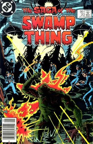Cover for Swamp Thing #20