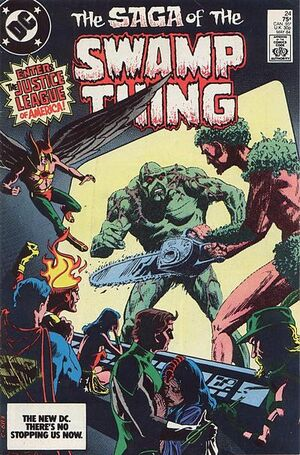 Cover for Swamp Thing #24
