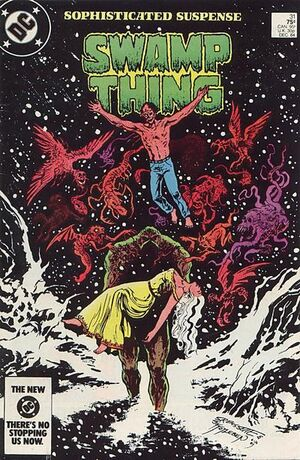 Cover for Swamp Thing #31