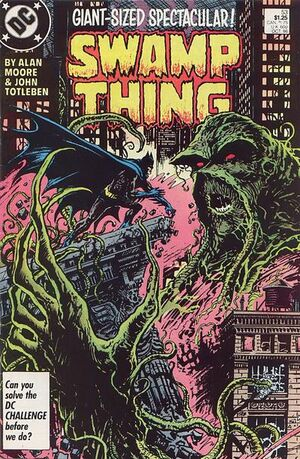 Cover for Swamp Thing #53