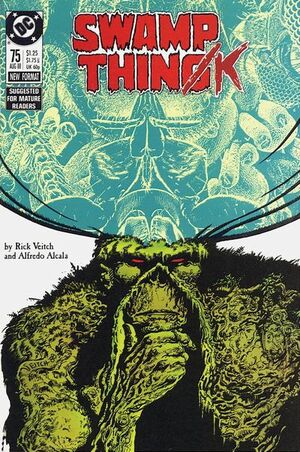 Cover for Swamp Thing #75