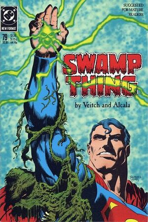 Cover for Swamp Thing #79