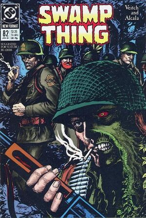 Cover for Swamp Thing #82