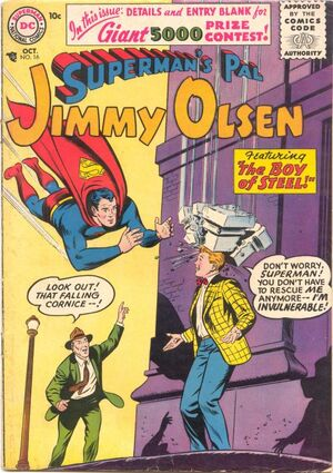 Cover for Superman&#39;s Pal, Jimmy Olsen #16