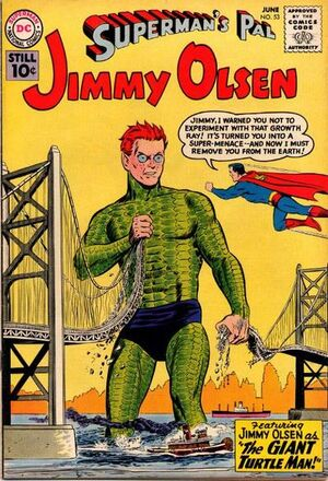Cover for Superman's Pal, Jimmy Olsen #53