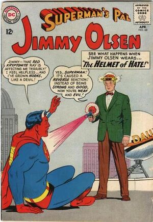 Cover for Superman's Pal, Jimmy Olsen #68