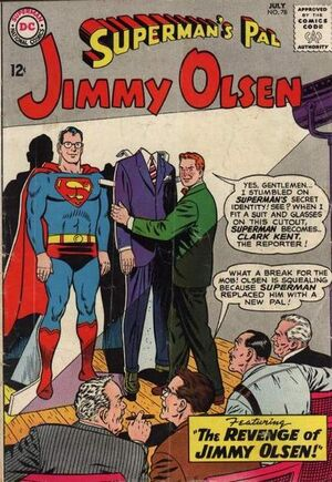 Cover for Superman's Pal, Jimmy Olsen #78