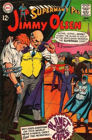 Cover for Superman's Pal, Jimmy Olsen #117