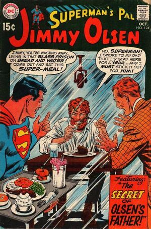 Cover for Superman's Pal, Jimmy Olsen #124