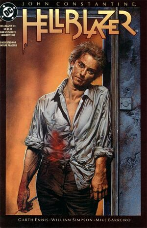 Cover for Hellblazer #61