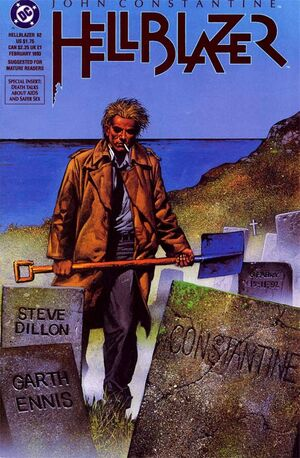 Cover for Hellblazer #62