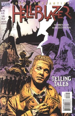 Cover for Hellblazer #143