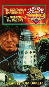 Sontaran experiment genesis of the daleks us vhs