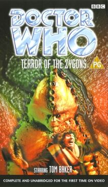 Terror of the zygons rerelease uk vhs