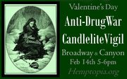 Boulder Feb. 14 Anti-DrugWar Vigil