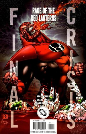 Cover for Final Crisis #{{{Issue}}}